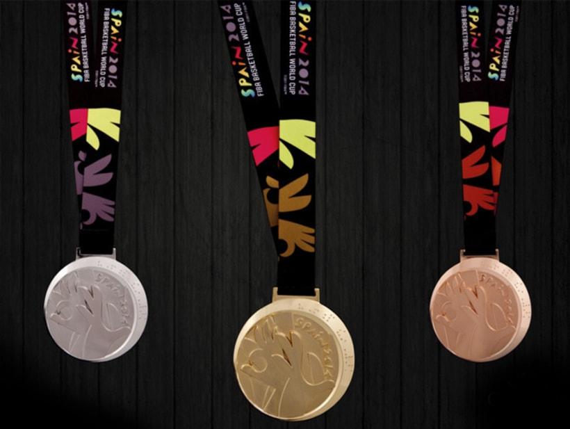 Medallas FIBA Spain 2014 3