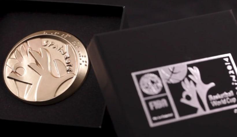Medallas FIBA Spain 2014 5