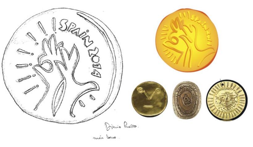 Medallas FIBA Spain 2014 7