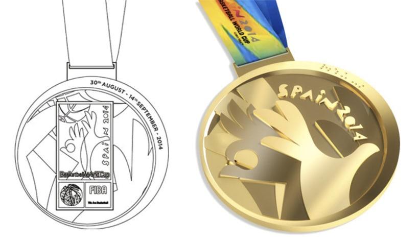 Medallas FIBA Spain 2014 9
