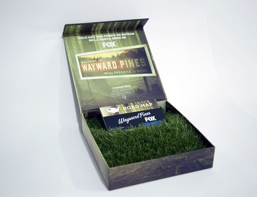 #CogeElteléfono Lanzamiento mundial de la serie Wayward Pines para Fox International Channels 6