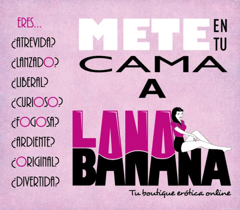 Lana Banana - Identidad gáfica 5