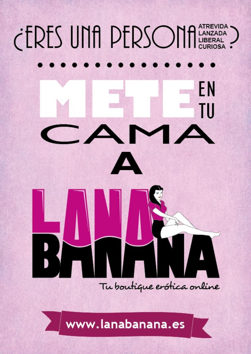 Lana Banana - Identidad gáfica 3
