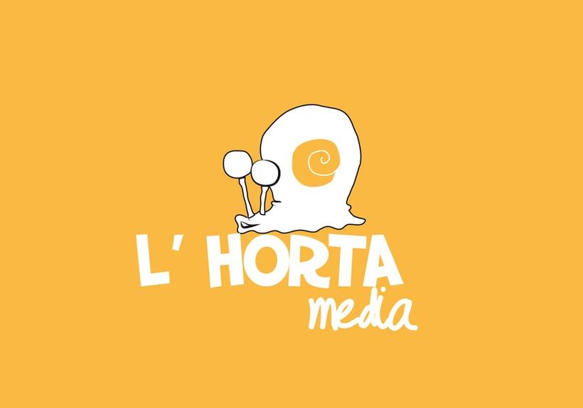 "Logotipo Productora Audiovisual ""L'Horta Media"" 1"