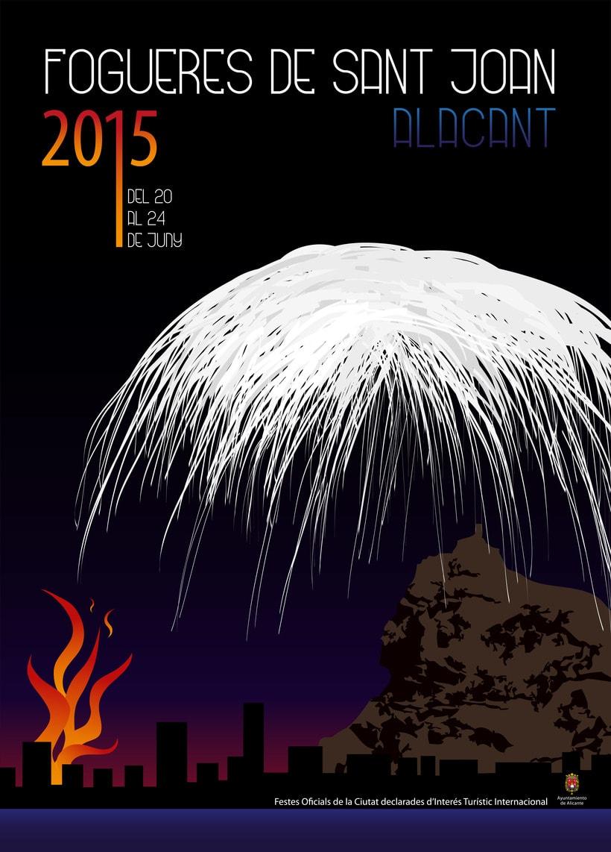 Cartel concurso Hogueras 2015 0
