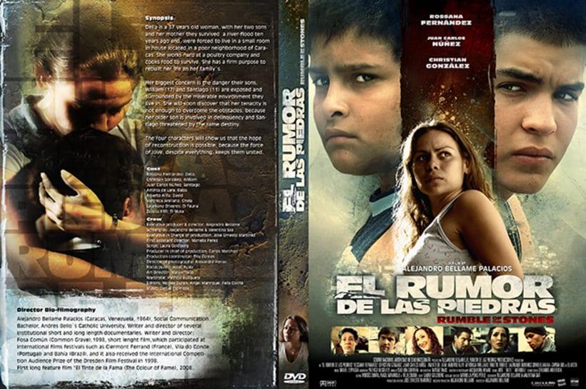 El Rumor de las Piedras, diseño de poster y proceso. 5