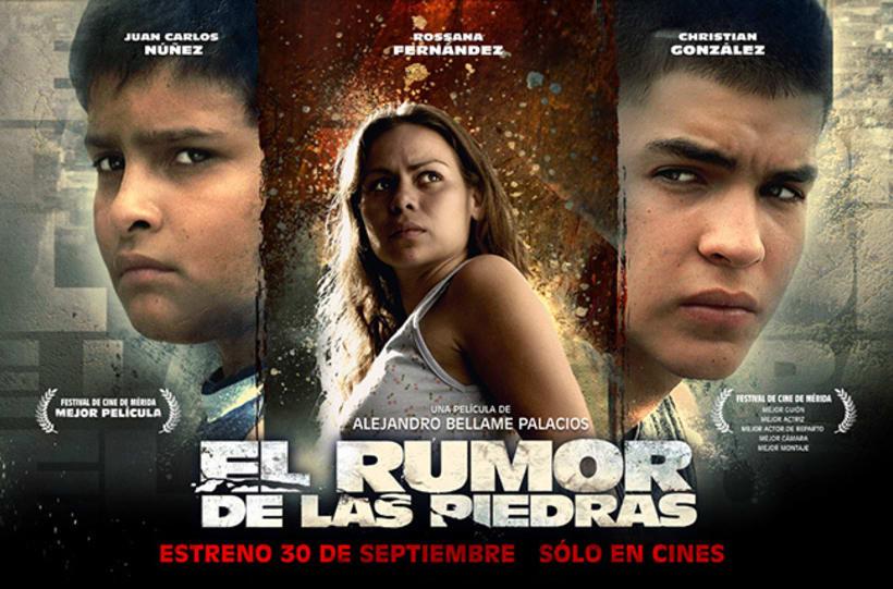 El Rumor de las Piedras, diseño de poster y proceso. 4