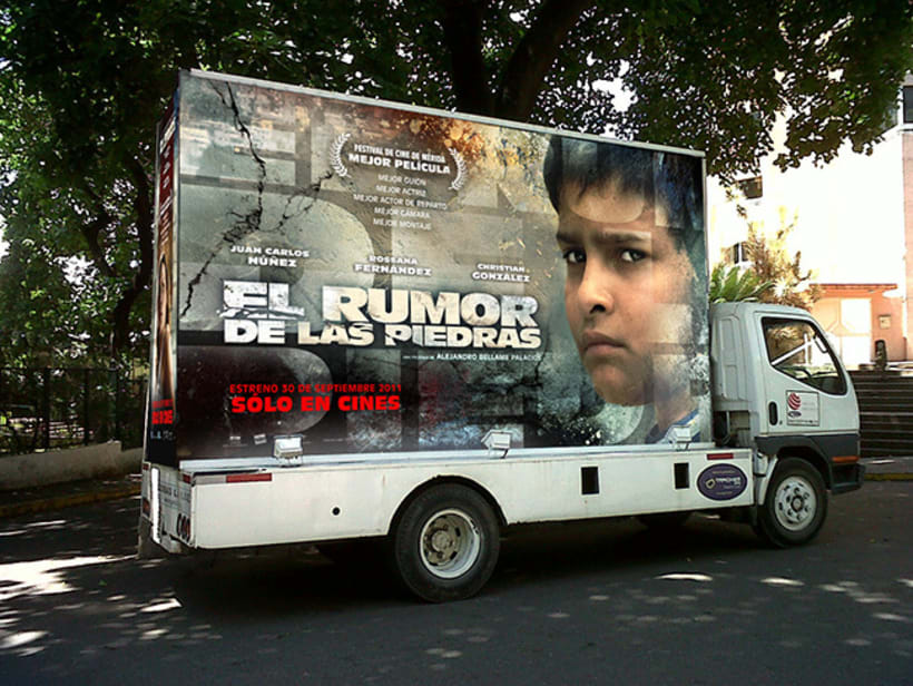 El Rumor de las Piedras, diseño de poster y proceso. 7