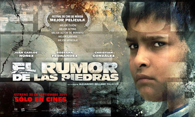 El Rumor de las Piedras, diseño de poster y proceso. 6