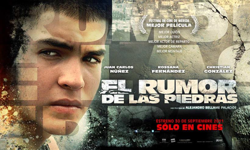 El Rumor de las Piedras, diseño de poster y proceso. 8