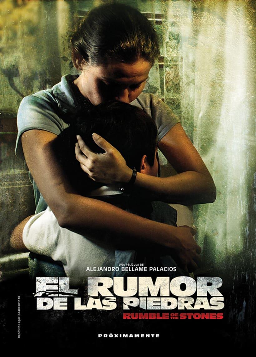 El Rumor de las Piedras, diseño de poster y proceso. 3