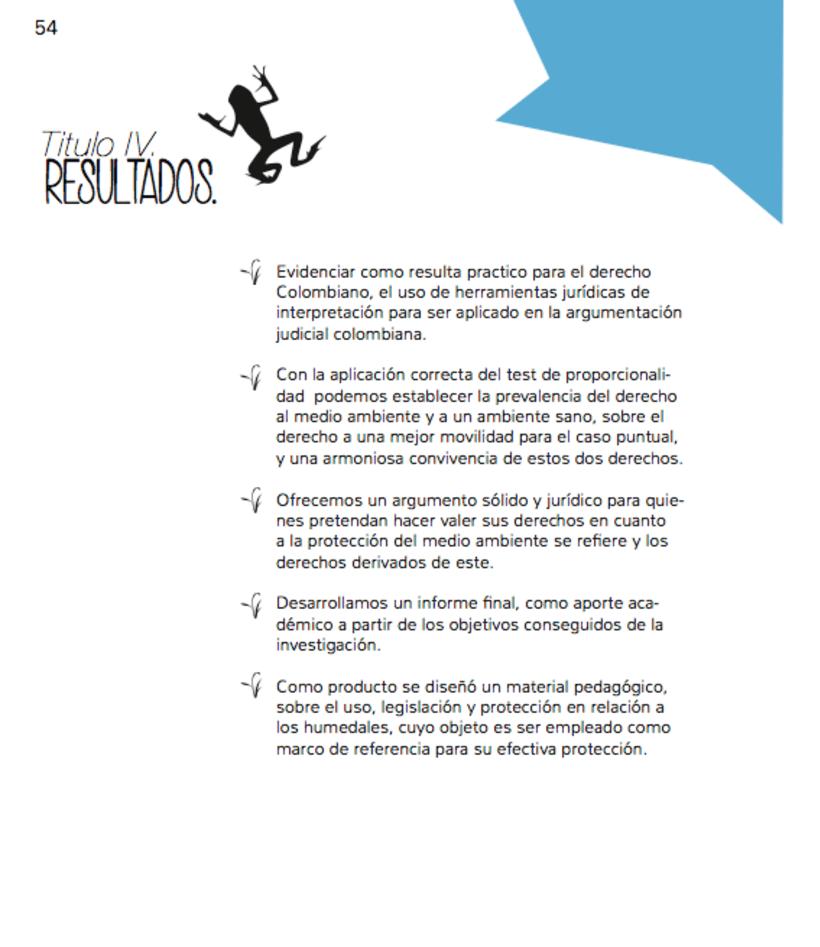Humedales Bogota. Diagramación. 5