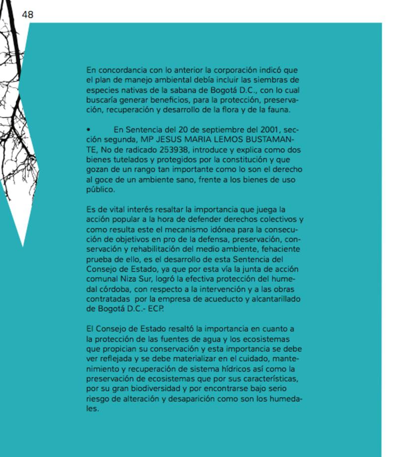 Humedales Bogota. Diagramación. 4
