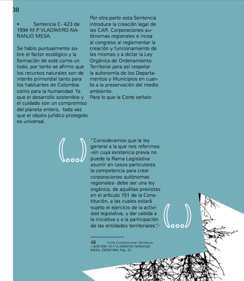 Humedales Bogota. Diagramación. 3