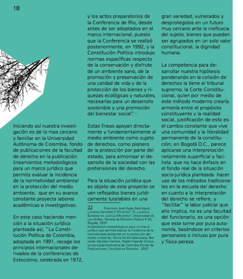 Humedales Bogota. Diagramación. 2