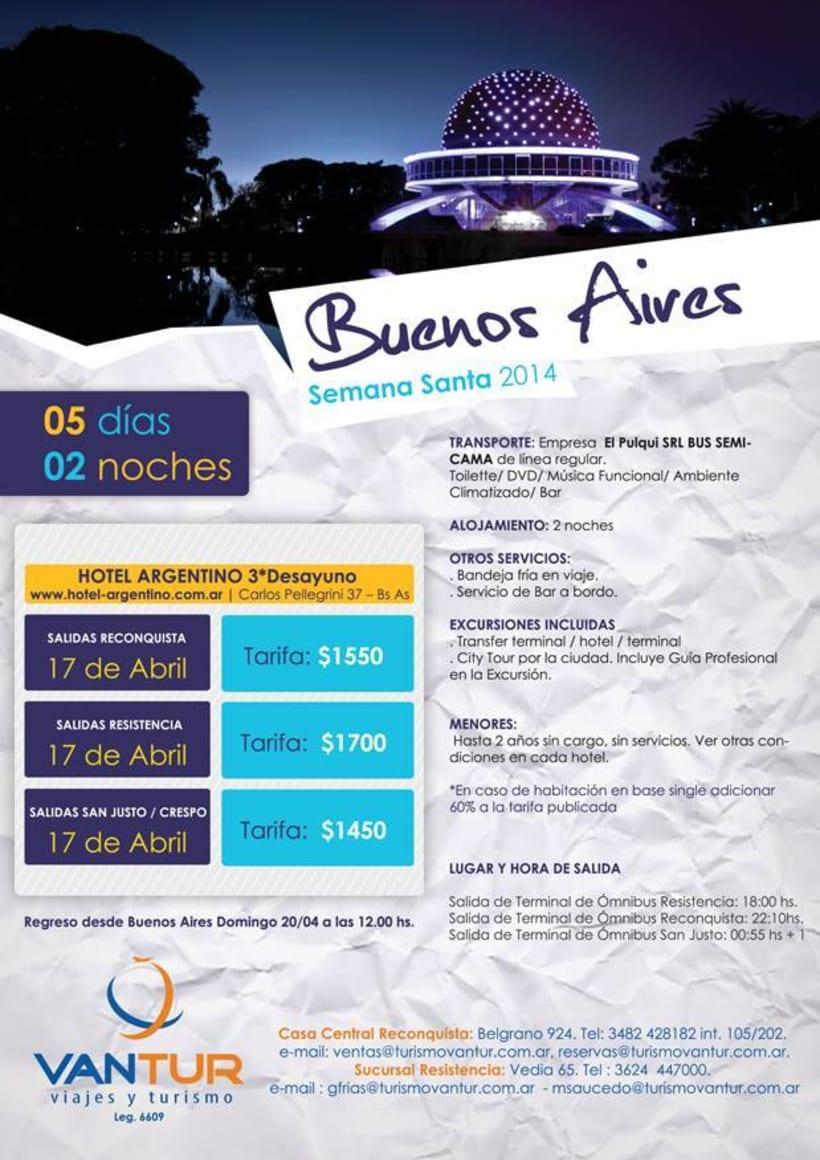Tarifario Semana Santa 2014 -1