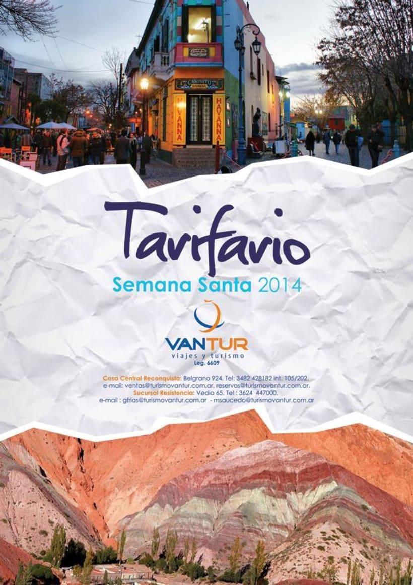 Tarifario Semana Santa 2014 2