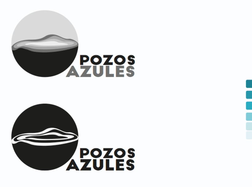PozosAzules.Logo. 1