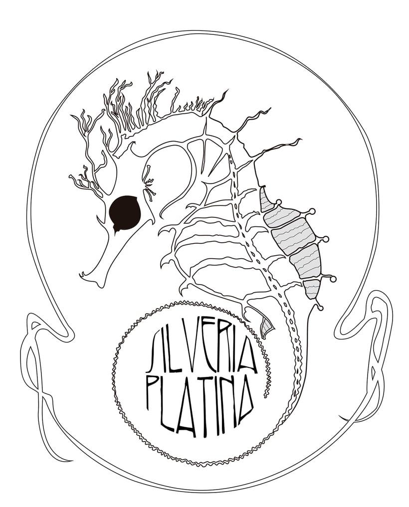 Silveria Platina. Logo. -1