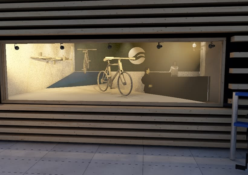 Giant store. Design  2