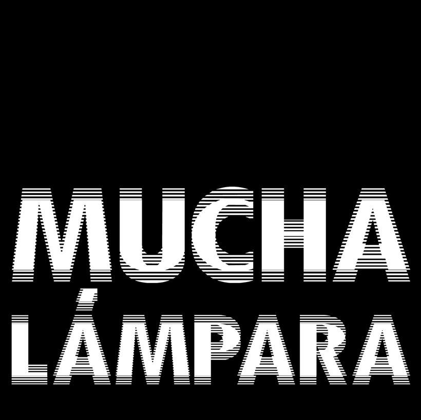 Mucha Lampara. Logo. 3