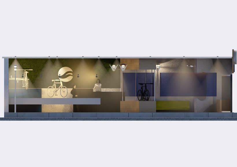 Giant store. Design  3