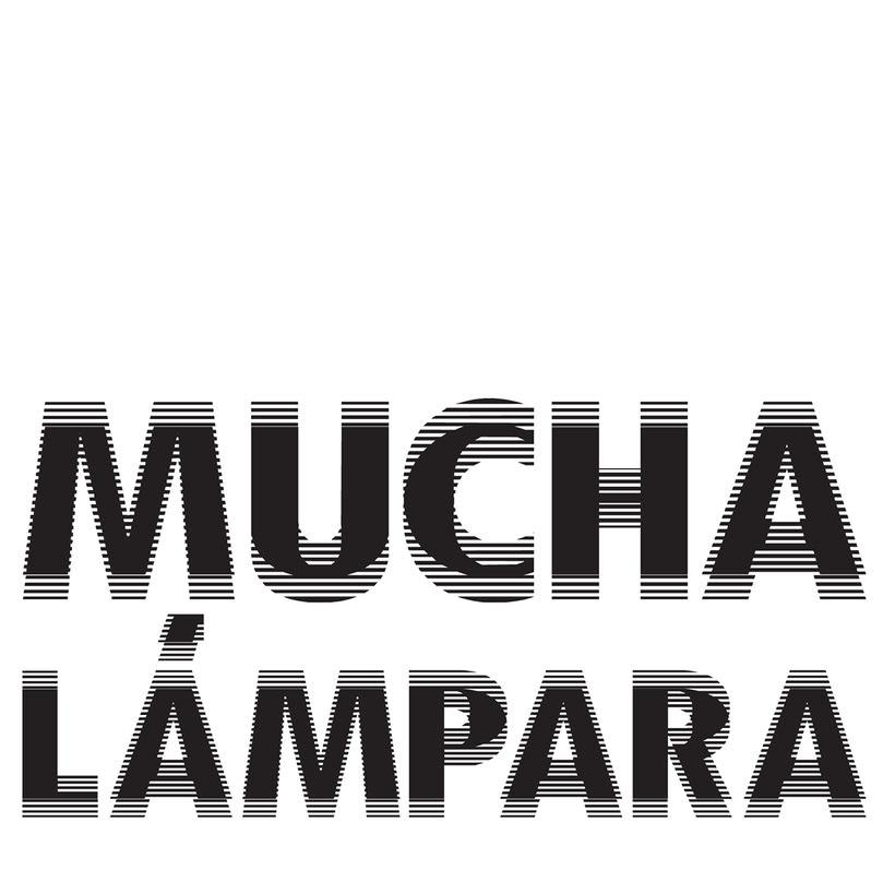 Mucha Lampara. Logo. 6