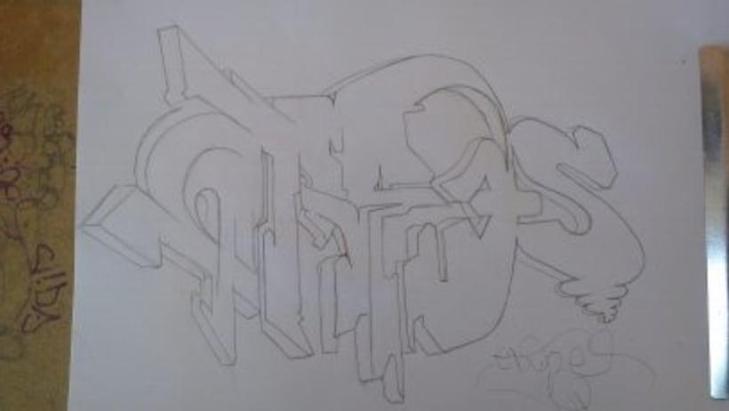 Serigrafia. ( Negro y cuatricomia )  1
