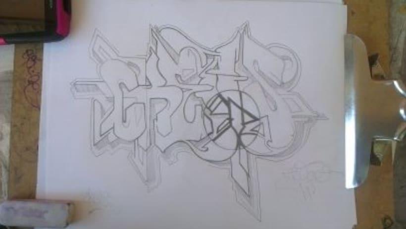 Ilustraciones ,Artes Visuales y lettering .  8