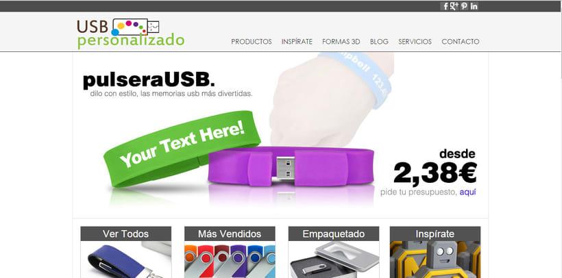 USBPersonalizado.es | Tienda Online de usb para Empresas 0