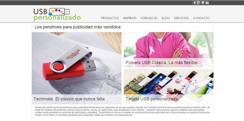 USBPersonalizado.es | Tienda Online de usb para Empresas 1