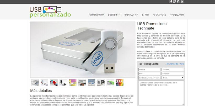 USBPersonalizado.es | Tienda Online de usb para Empresas 2