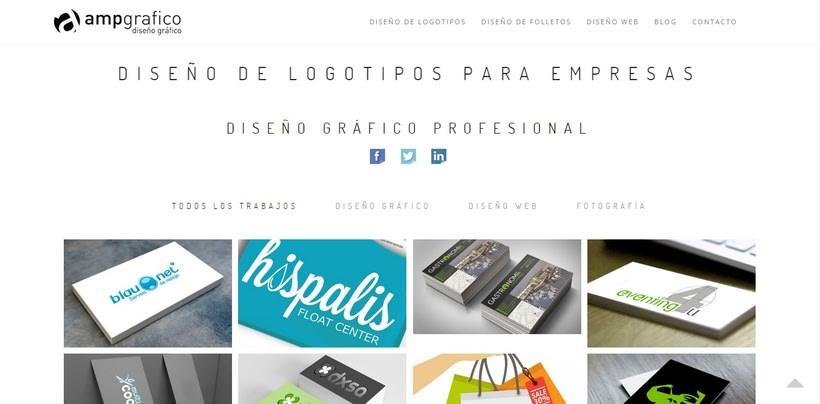 Ampgrafico presenta el diseño de su nueva web 0