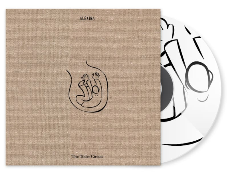 alexira - The Toilet Circuit CD design -1