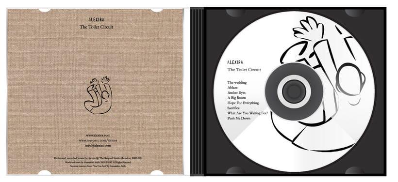 alexira - The Toilet Circuit CD design 0