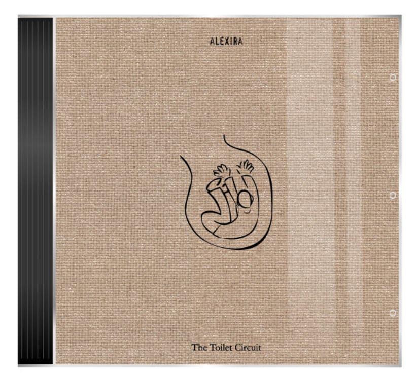 alexira - The Toilet Circuit CD design 1