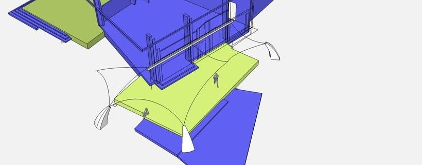 Modulos. 3D. Arqt. 3