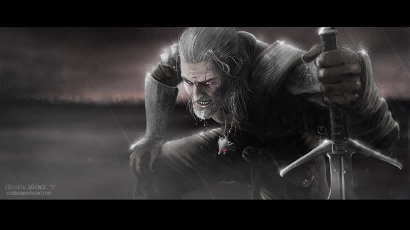 Witcher Fan Art by Cristian Sánchez -1