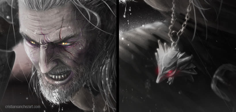Witcher Fan Art by Cristian Sánchez 0