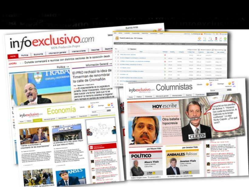 Sitio de Noticias Infoexclusivo -1