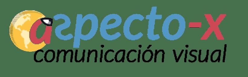 Logo e isotipo AspectoX 0