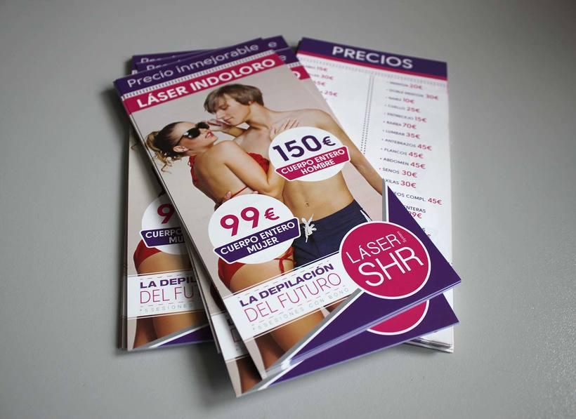 Campaña de publicidad Láser SHR 0
