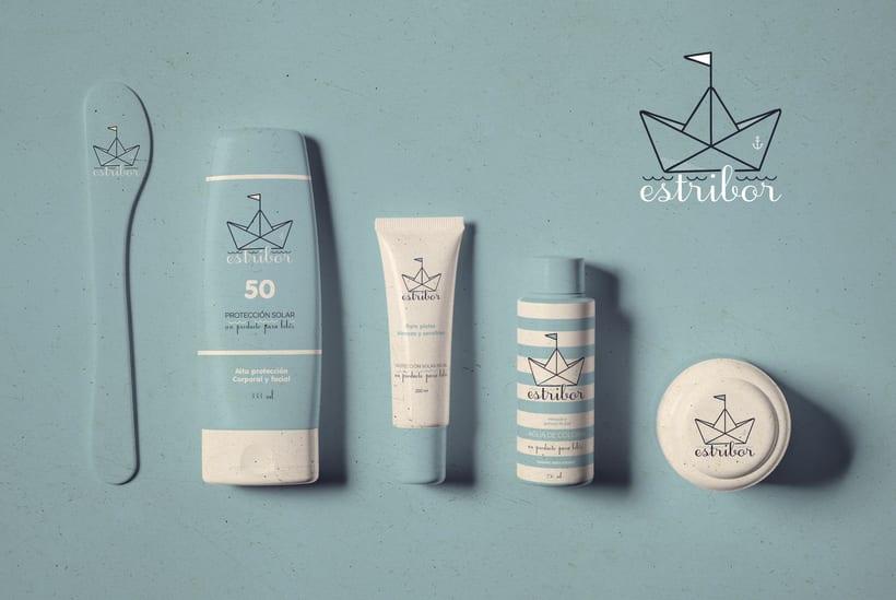 """Baby cosmetics """"Estribor"""" 7"""