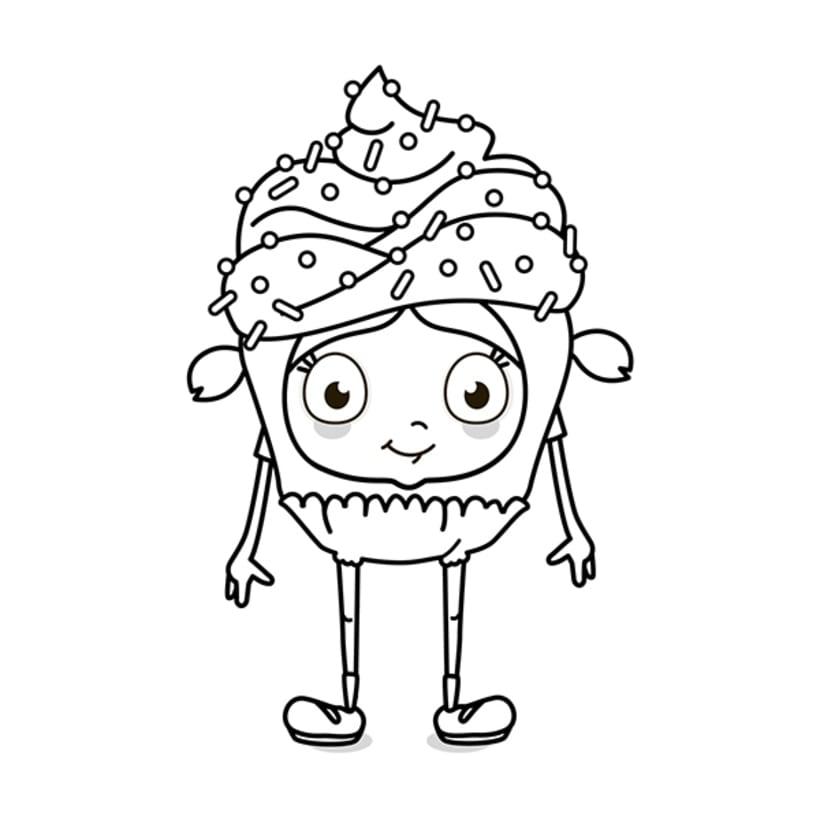 Disfraz cupcake -1