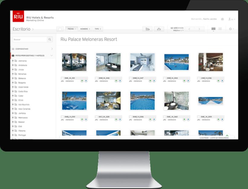 RIU Hotels & Resorts · Aplicación Web para la gestión de Marca y contenidos de Marketing. 1