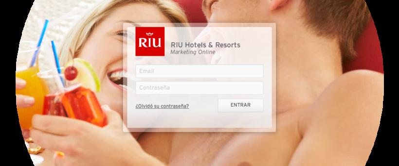RIU Hotels & Resorts · Aplicación Web para la gestión de Marca y contenidos de Marketing. 4