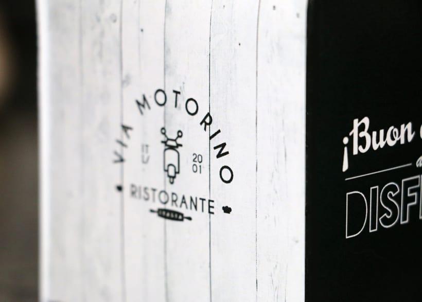"Ristoriante ""Via Motorino"" 6"
