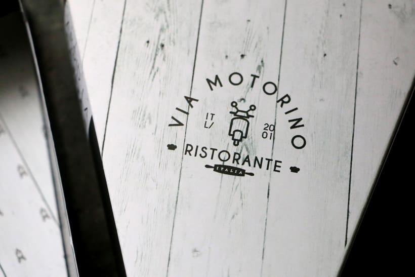 "Ristoriante ""Via Motorino"" 7"