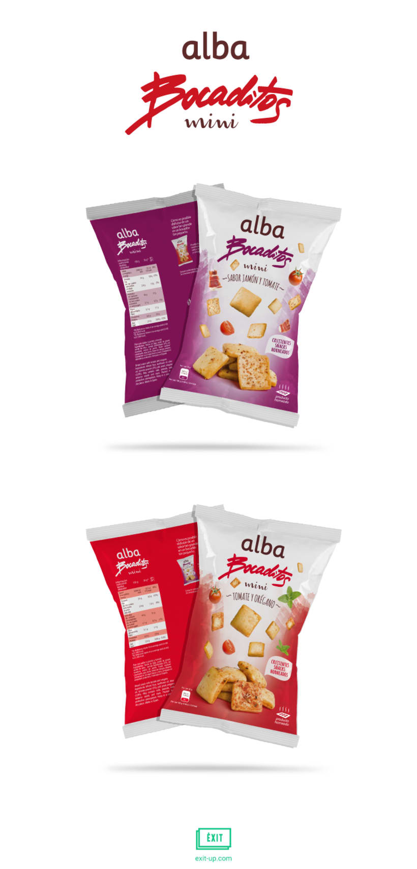 Packaging - Alba Bocaditos mini (rediseño) 0