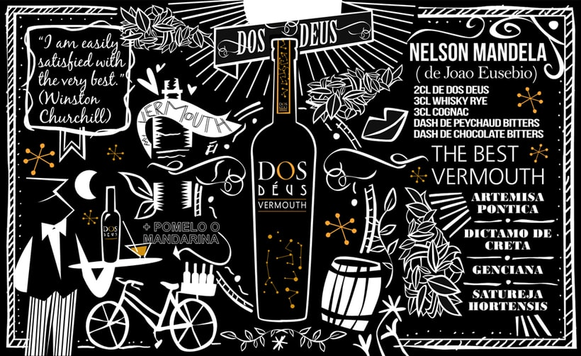 Diseño packaging Vermouth FONTALIA Classic Red y Dry Red 3